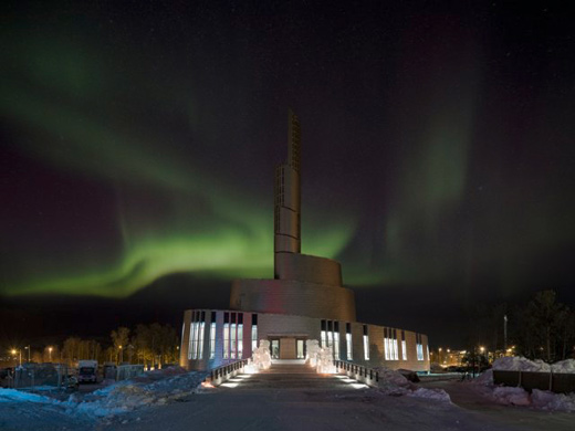Cathedral of the Northern Lights Arctic Religion by Schmidt/Hammer/Lassen